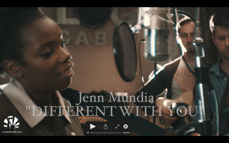 "Jenn Mundia's ""Different With You"" - An Acoustic Gold Session"